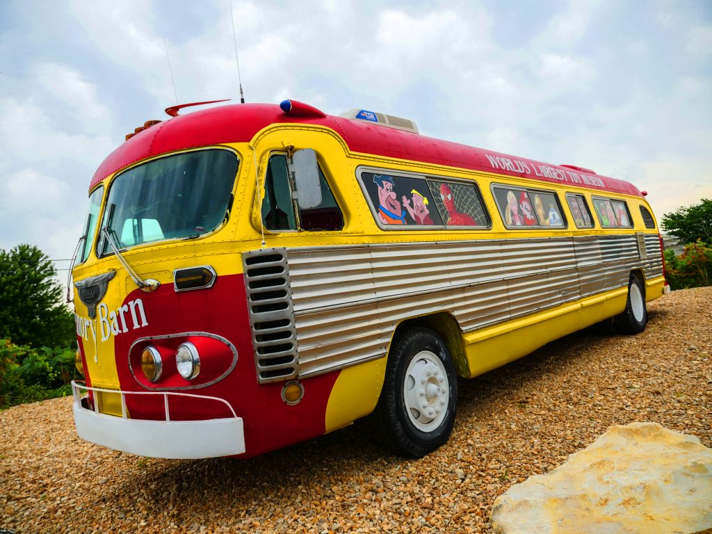 toy museum bus